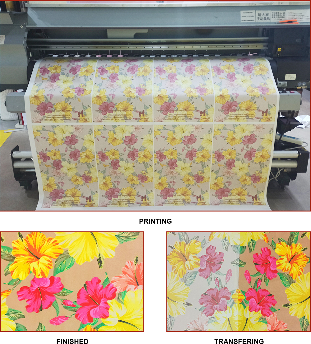 50 gsm Jumbo Roll Sublimation Paper